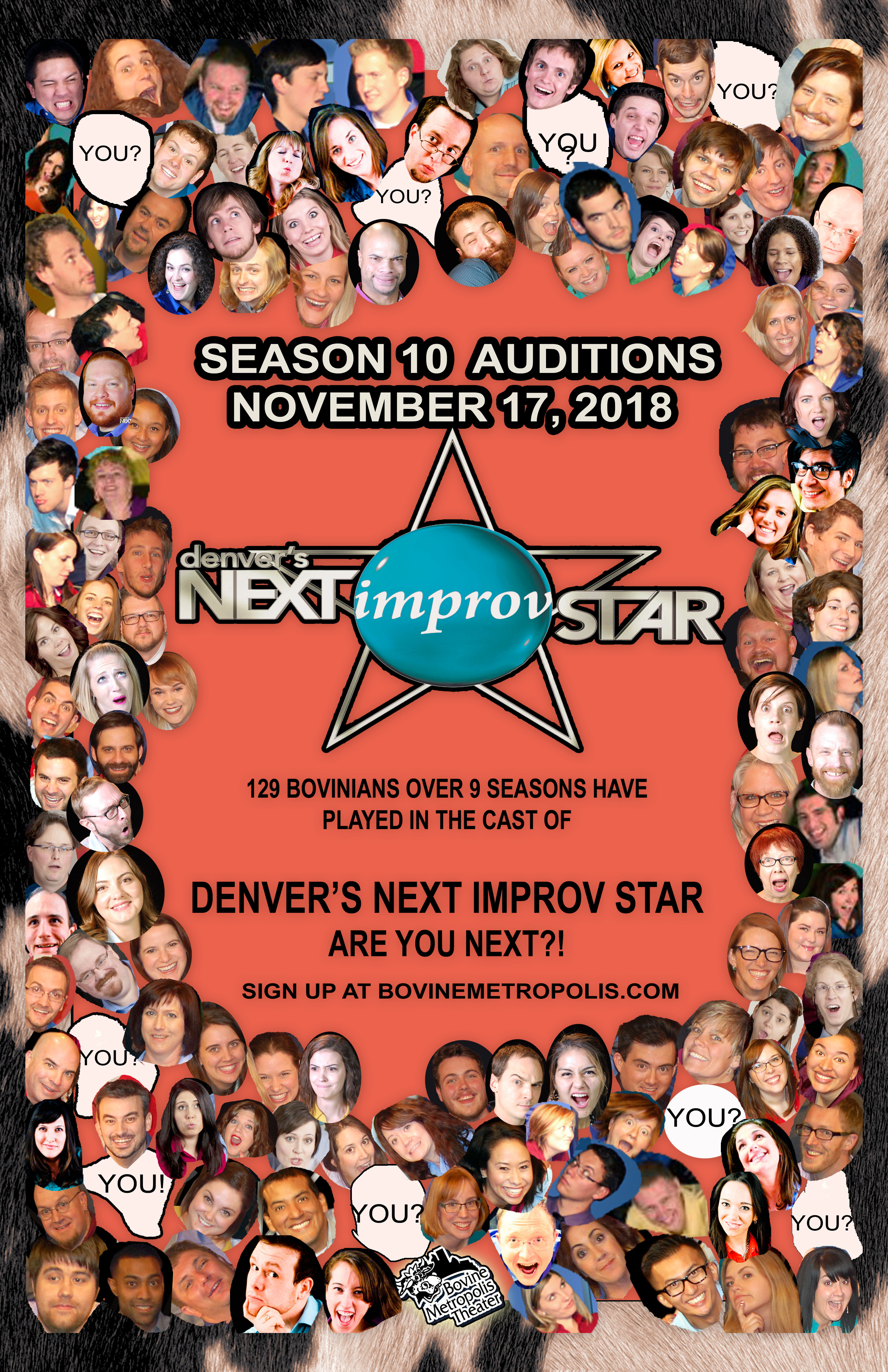 DNIS 10 Audition Poster